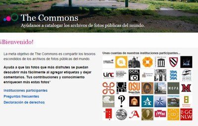 The Commons de Flickr, una biblioteca gigante.