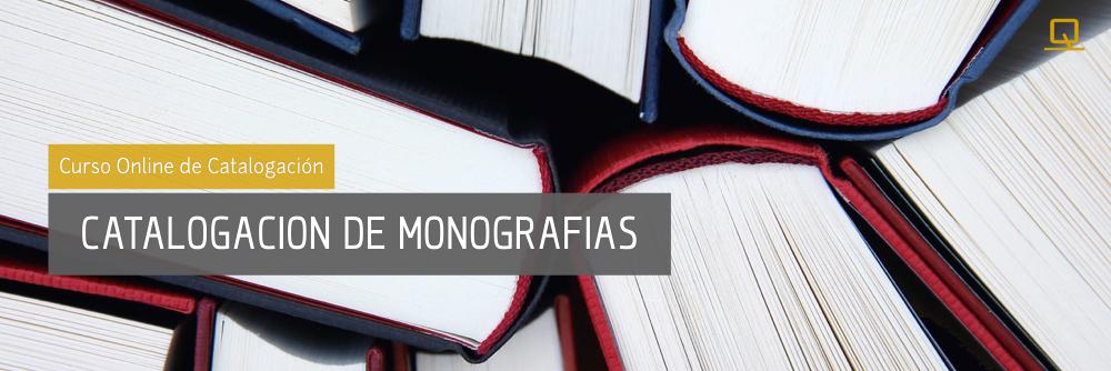 Curso de Catalogación de Monografías
