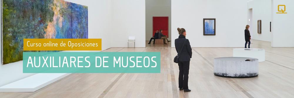 Curso de Oposiciones para Auxiliares de Museos
