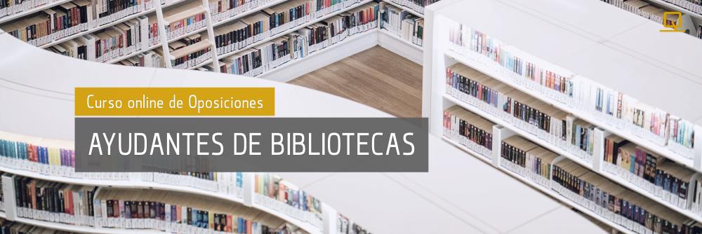 Curso de Oposiciones para Ayudantes de Bibliotecas