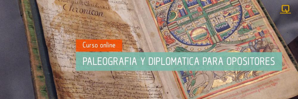 Curso de Paleografía y Diplomática para Opositores