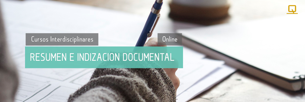 Curso de Resumen e Indización Documental