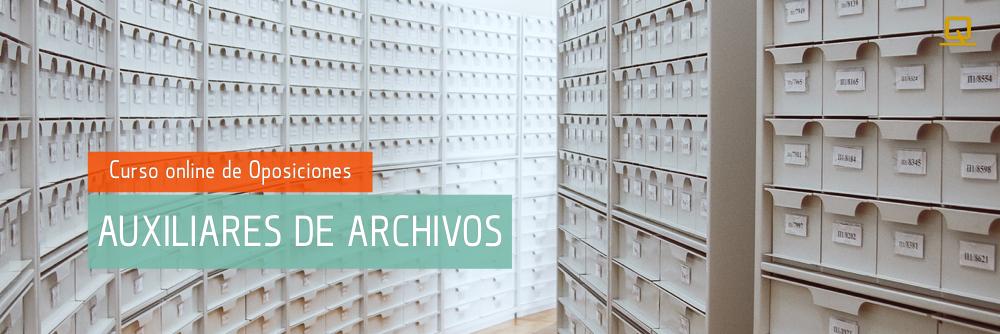 Curso integral de Oposiciones para Auxiliares de Archivos