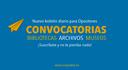 Nuevo Boletín diario de Convocatorias para Opositores